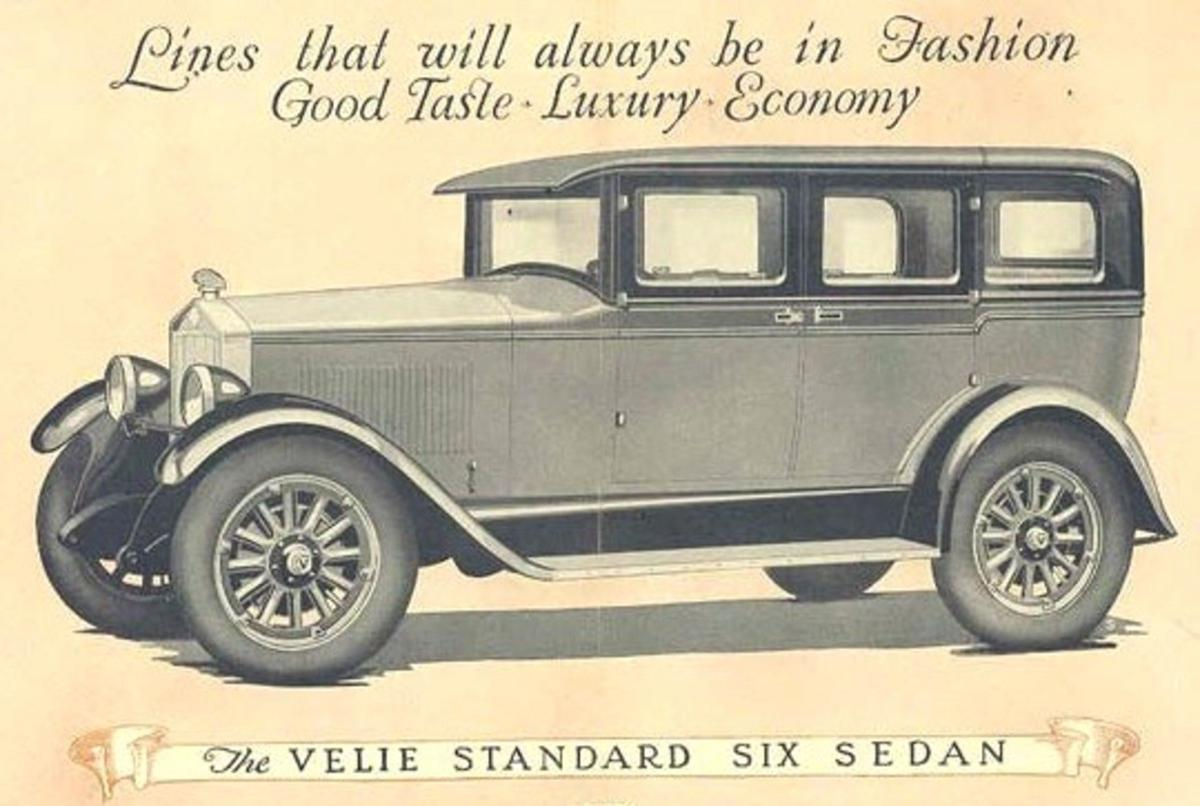 Vintage Autos: Velie cars have become rare collectible in auto ...
