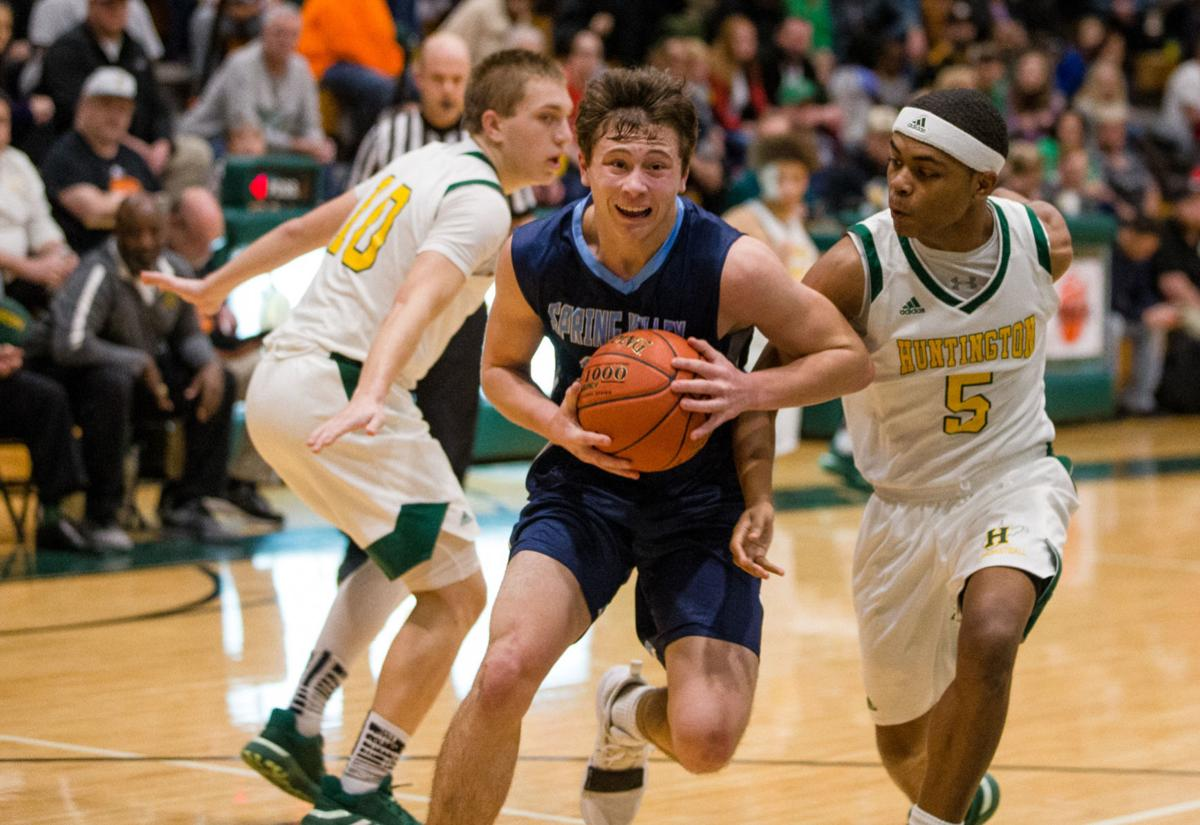 Photos: Huntington vs. Spring Valley, boys basketball