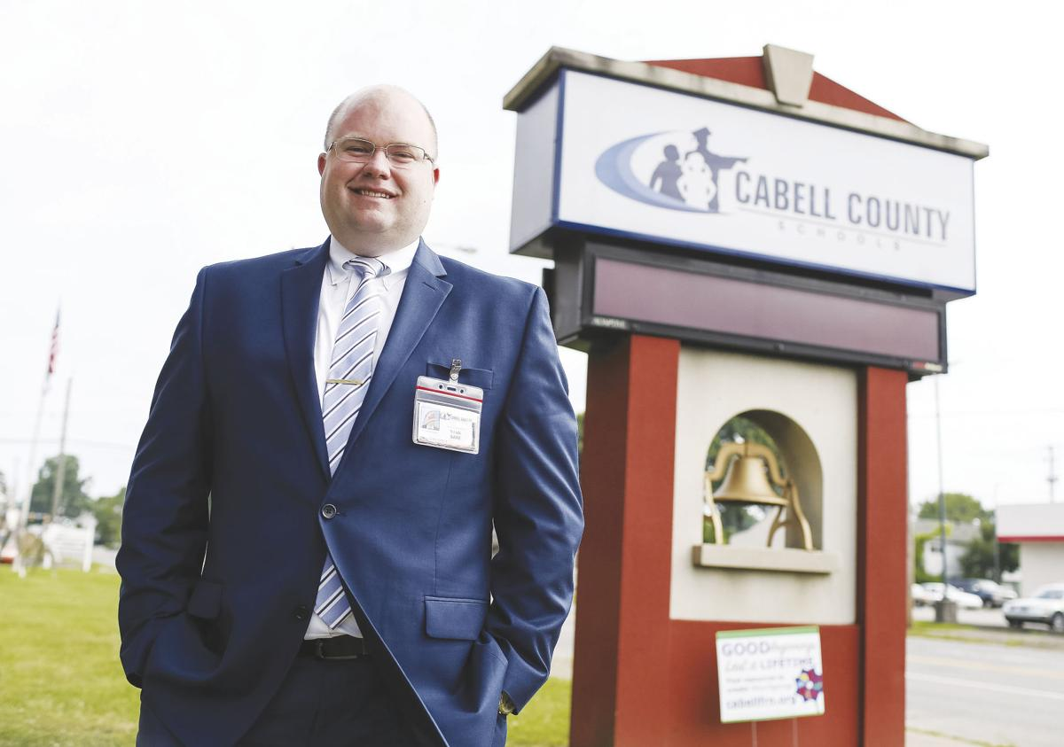 Saxe ready to take lead at Cabell schools