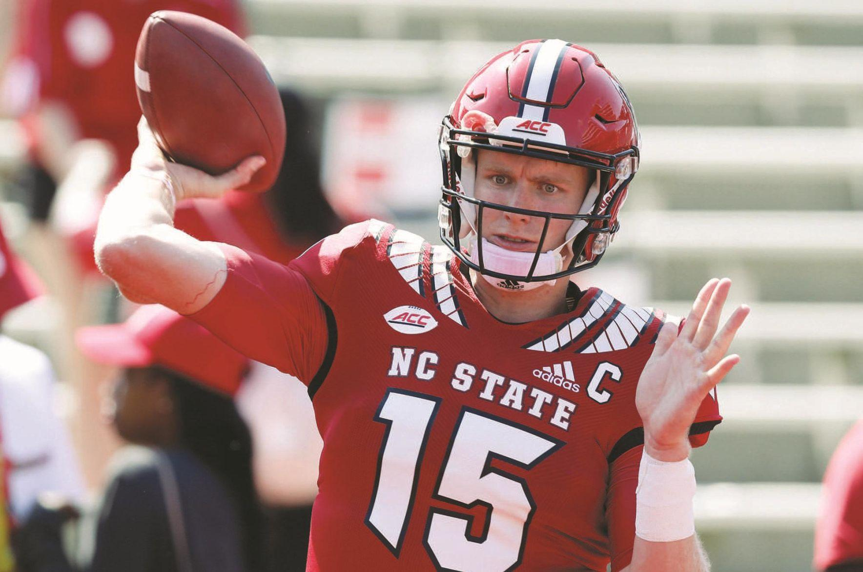 online retailer 61cfc fba98 NC State's Ryan Finley a special student-athlete | | herald ...