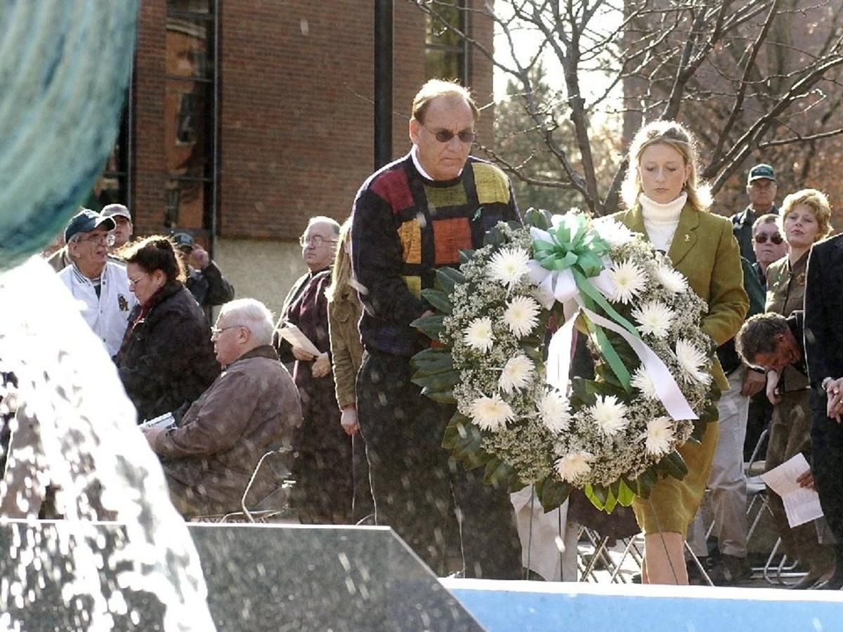 Gallery: Marshall Memorial Service 2004