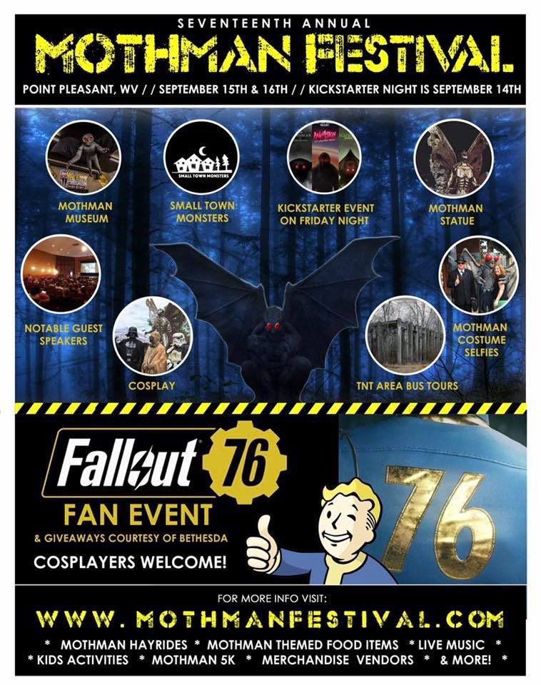 Mothman Museum Teams Up With Makers Of Fallout 76 For Official