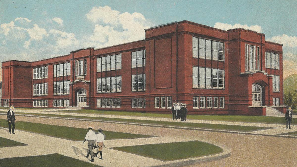 Lost Huntington: Enslow Middle School