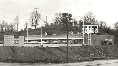 Herald-Dispatch file photo The Evans Supermarket at the Eastern Heights Shopping Center on U.S. 60 was one of five stores the company operated in Huntington.