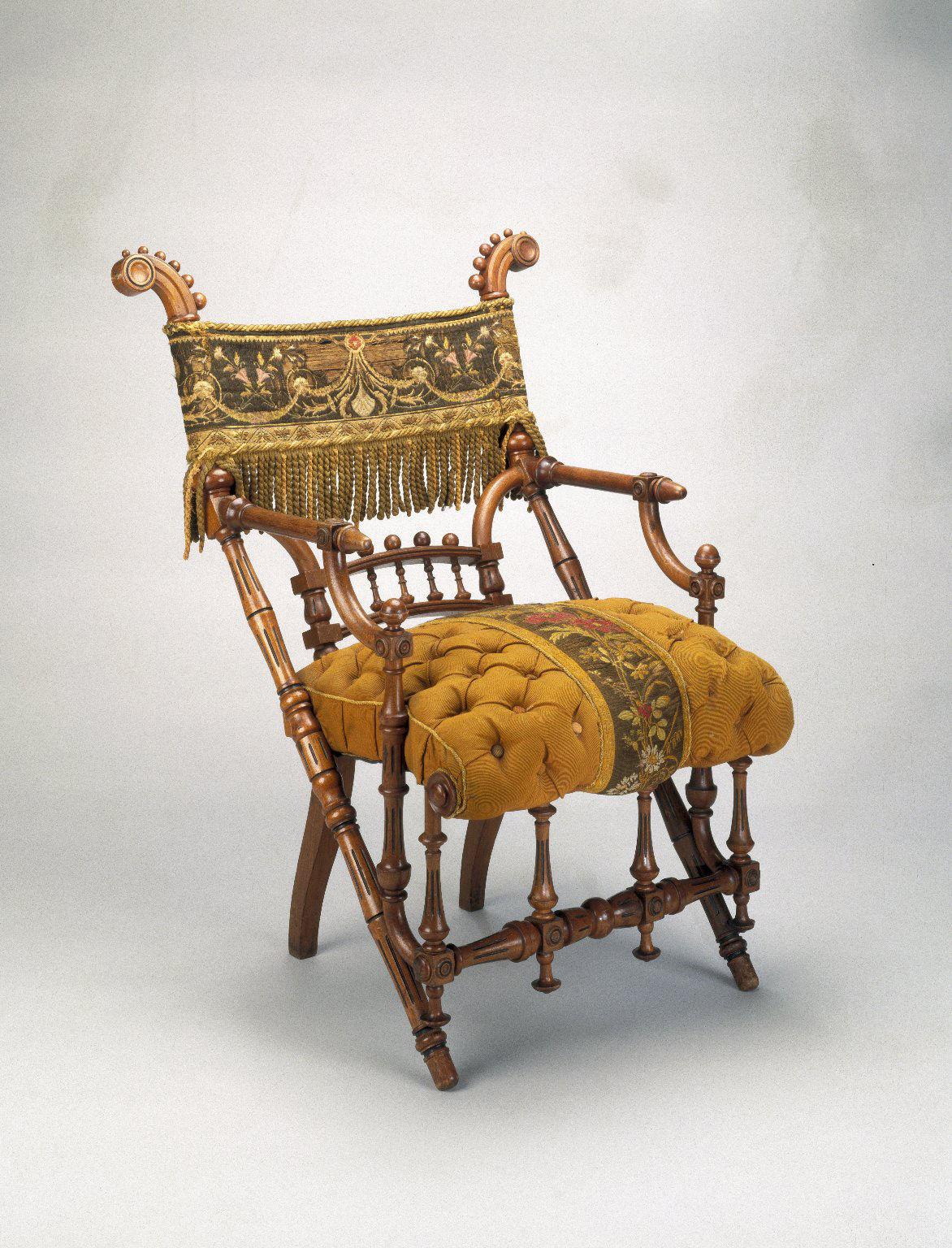 Jean McClelland: Sought After Hunzinger Furniture Reflects Ornate  Sensibilities Of Its Era