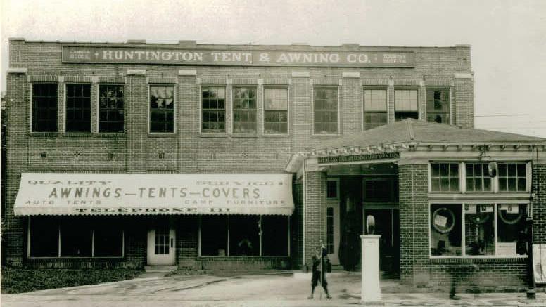 Lost Huntington: Huntington Awning and Patio Shop