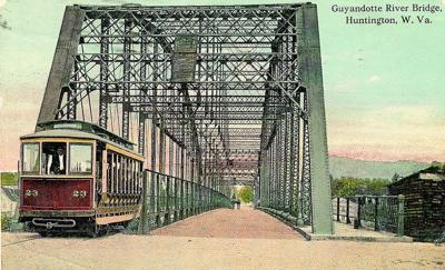 887ed02307823e Lost Huntington  Old Guyandotte Bridge