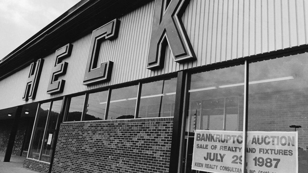 Lost Huntington: Heck's Department Store
