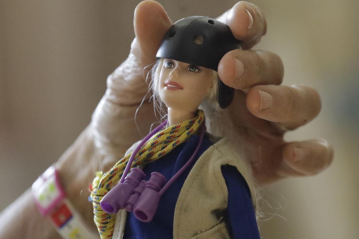 Scientist Barbie Professor