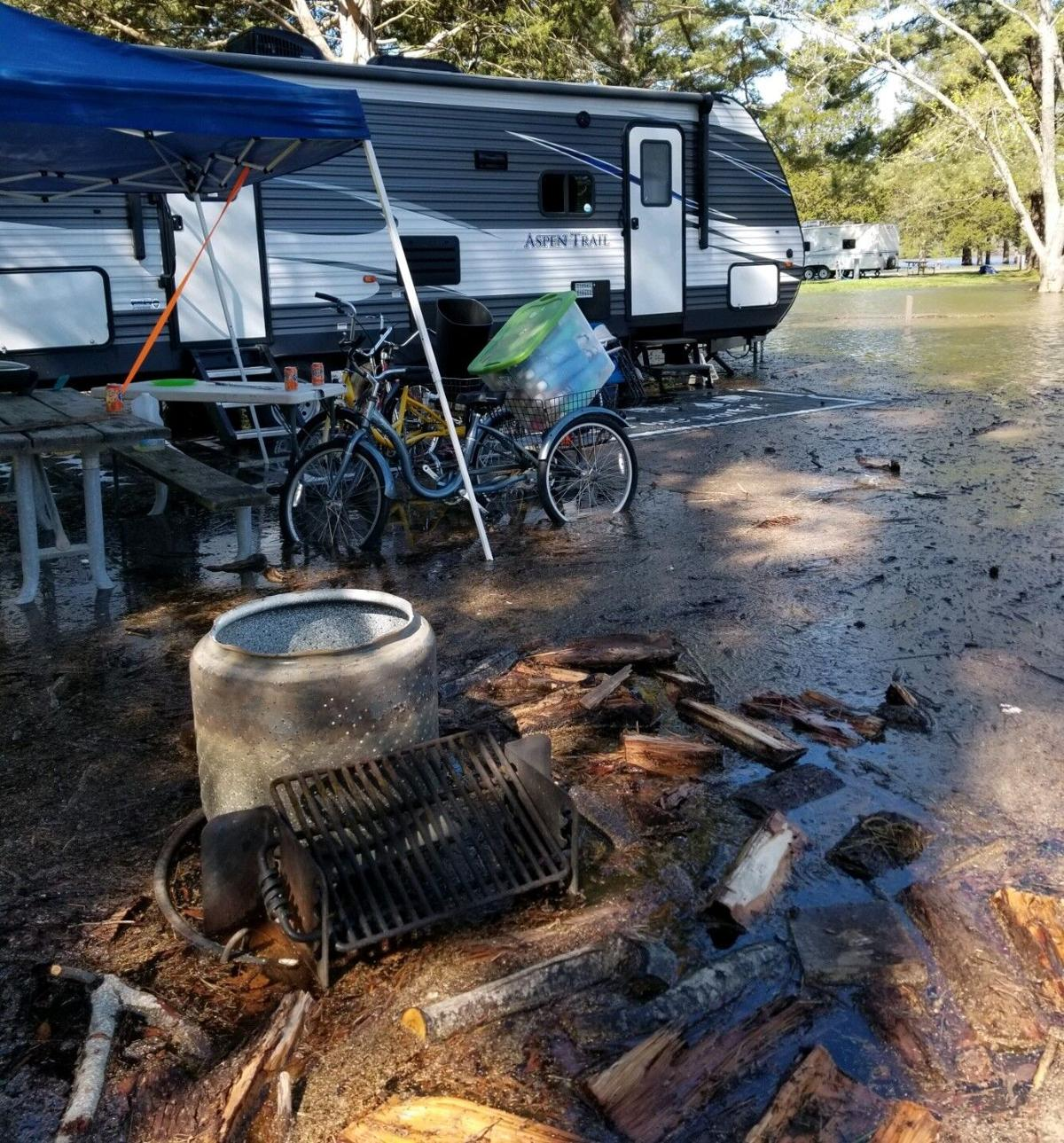 Flooding camp