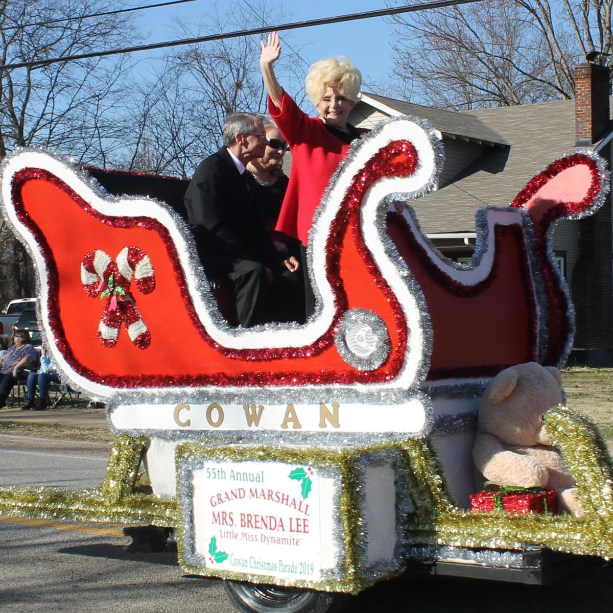 Cowan Tn Christmas Parade 2020 Cowan Christmas Parade brings holiday cheer | Local News