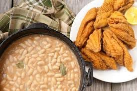 fish fry with beans.jpg