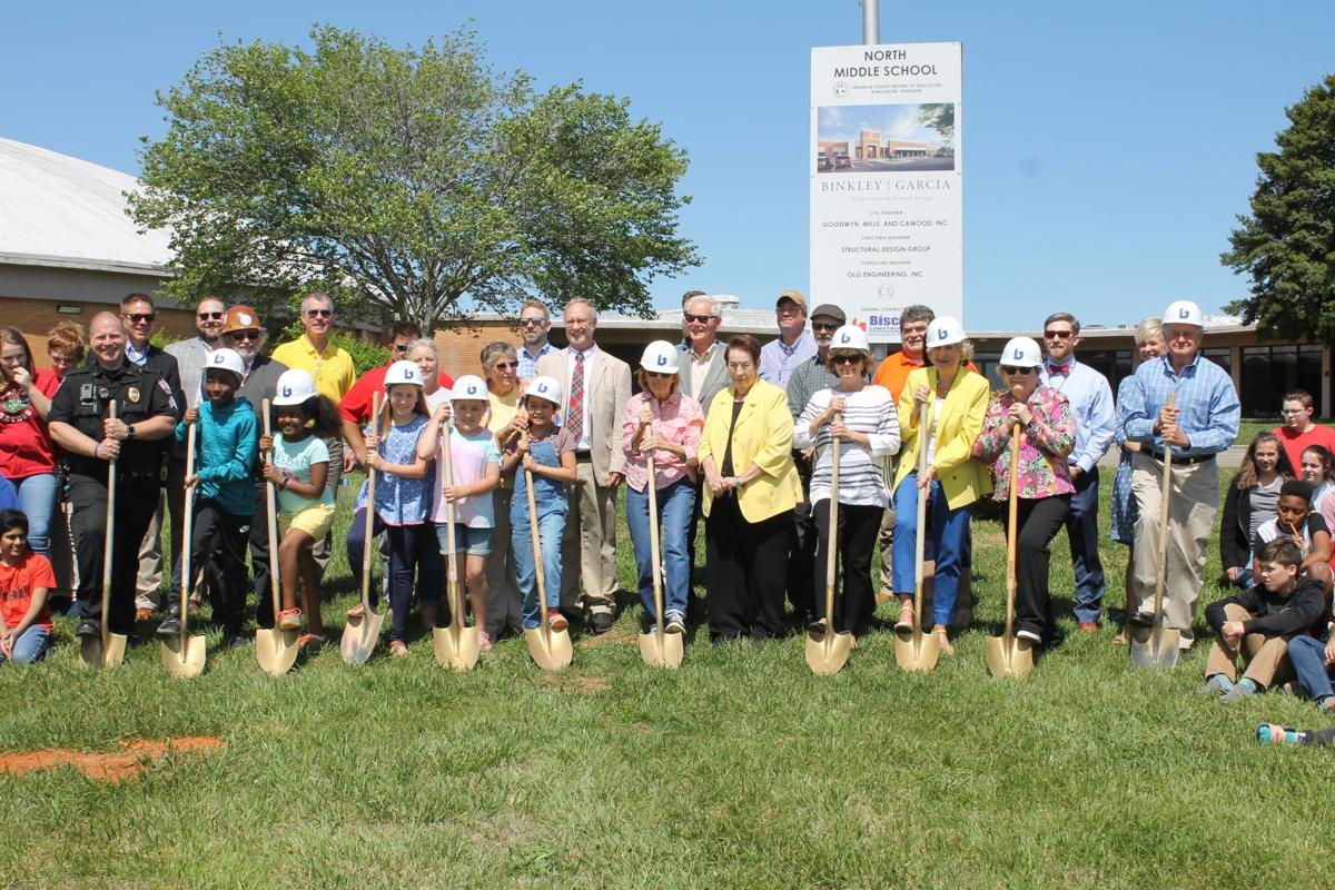 North Middle School groundbreaking pic