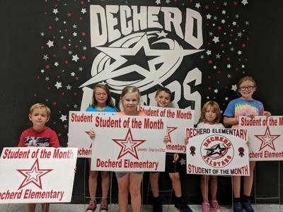 Decherd students of month