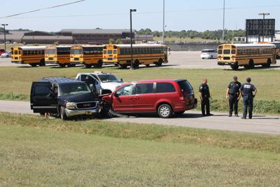 Auto accident near FCHS pic