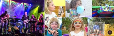 AngelFest collage