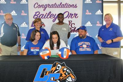 Bailey Orr signing