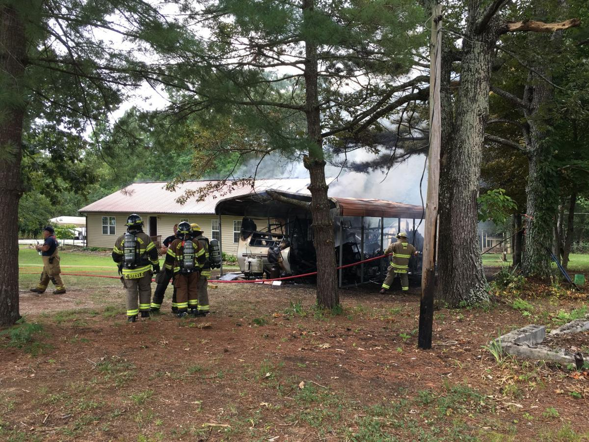 More than 20 firefighters at Meadowwood blaze