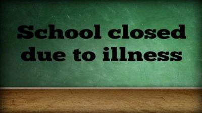 School closed due to illness pic