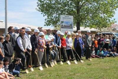 South Middle School groundbreaking pic