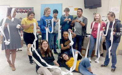 Huntland students