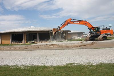 Middle school destruction