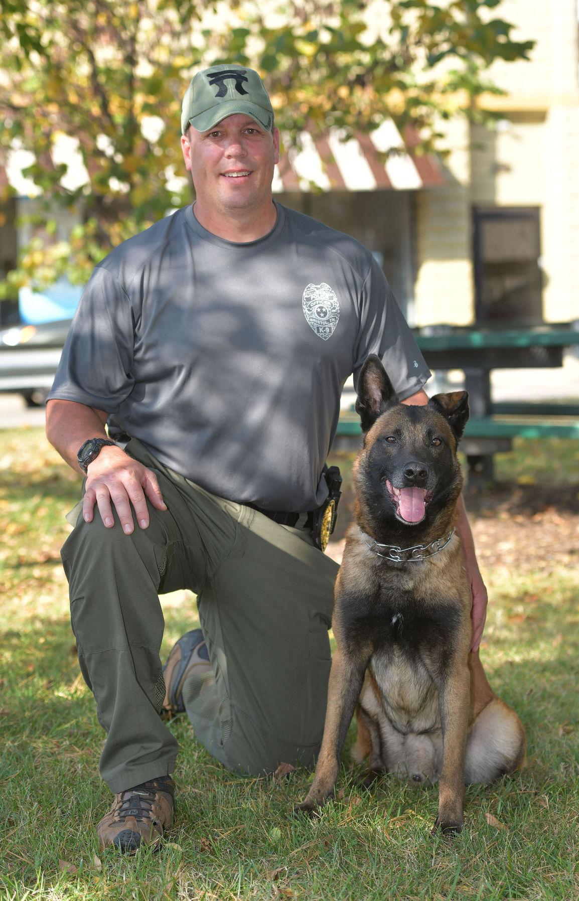 K-9 officers help law enforcement officials tackle crime