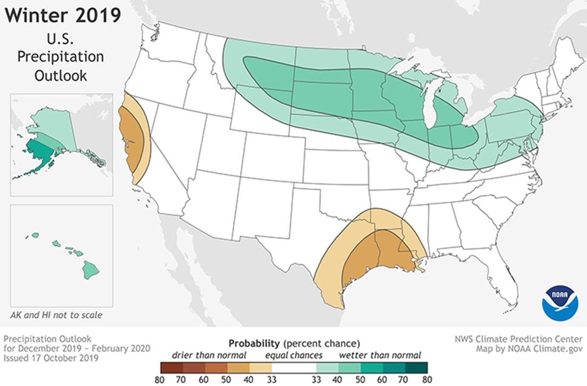 NOAA calls for mild winter but one with big mood swings