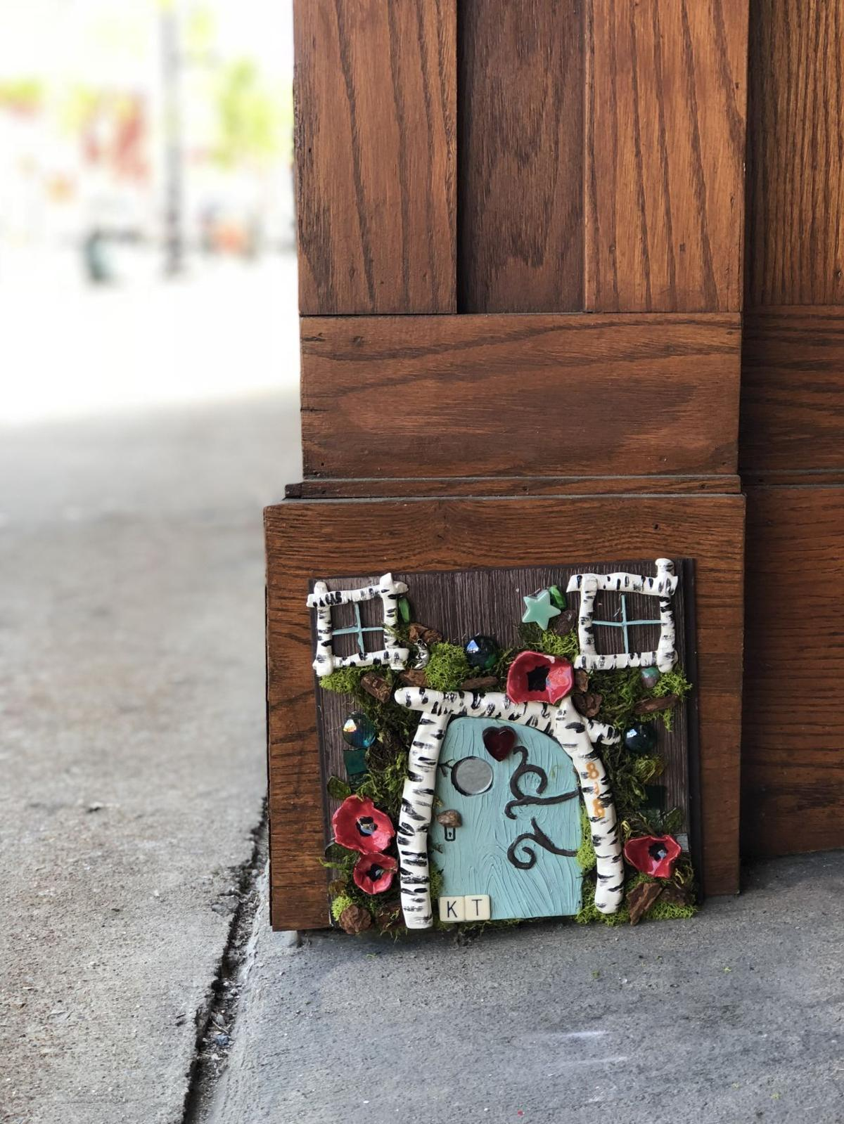 Fairyland: Art projects installs fairy doors at downtown