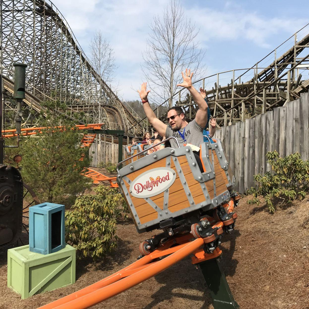 Dollywood Features Whistle Punk Chaser Roller Coaster Lifestyles
