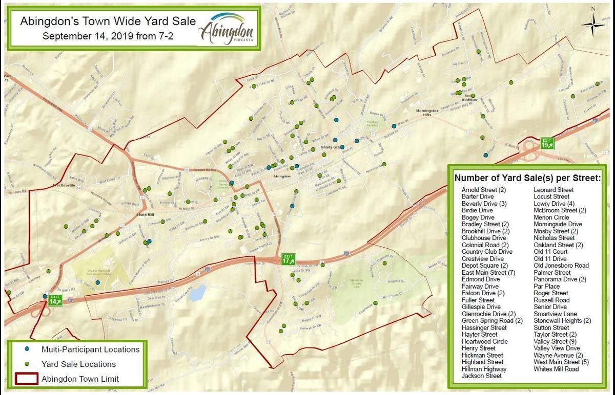 Yard Sale Map