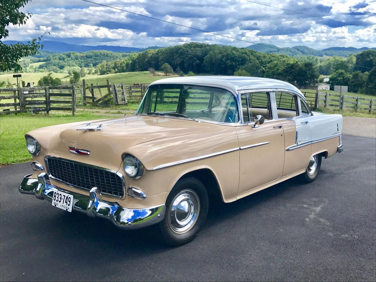 1955 chevy bel air fred cunningham bristol virginia aug 6 2017 0 bhc 08072017 rr contributed photo