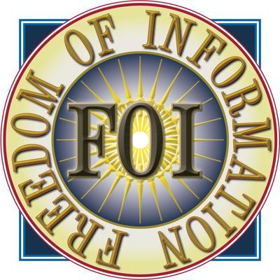 Freedom of Information FOIA logo