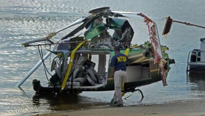 NTSB releases report in 2012 copter crash into South Holston
