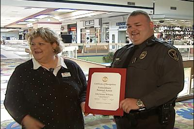 Mall Security Guard Saves Child's Life