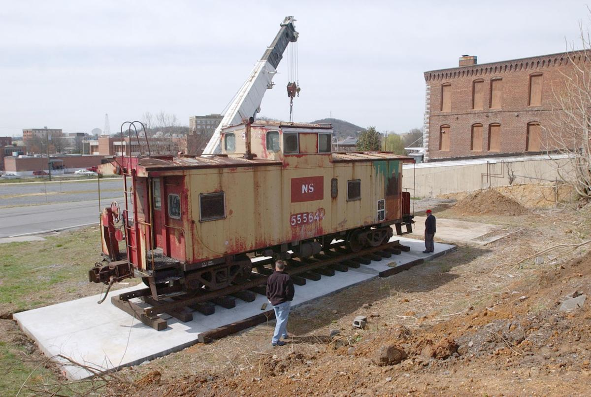 Pieces of the Past: Caboose on display for 11 years in