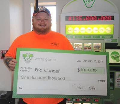 Bristol man wins $100,000 playing Virginia Lottery scratcher