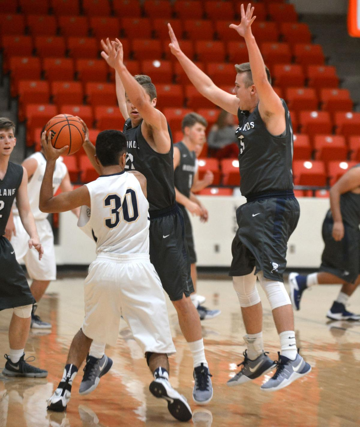 U High Basketball University High vs Ric...