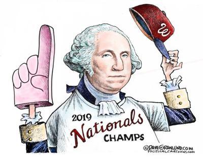 Editorial cartoon: Nationals 2019 Champs