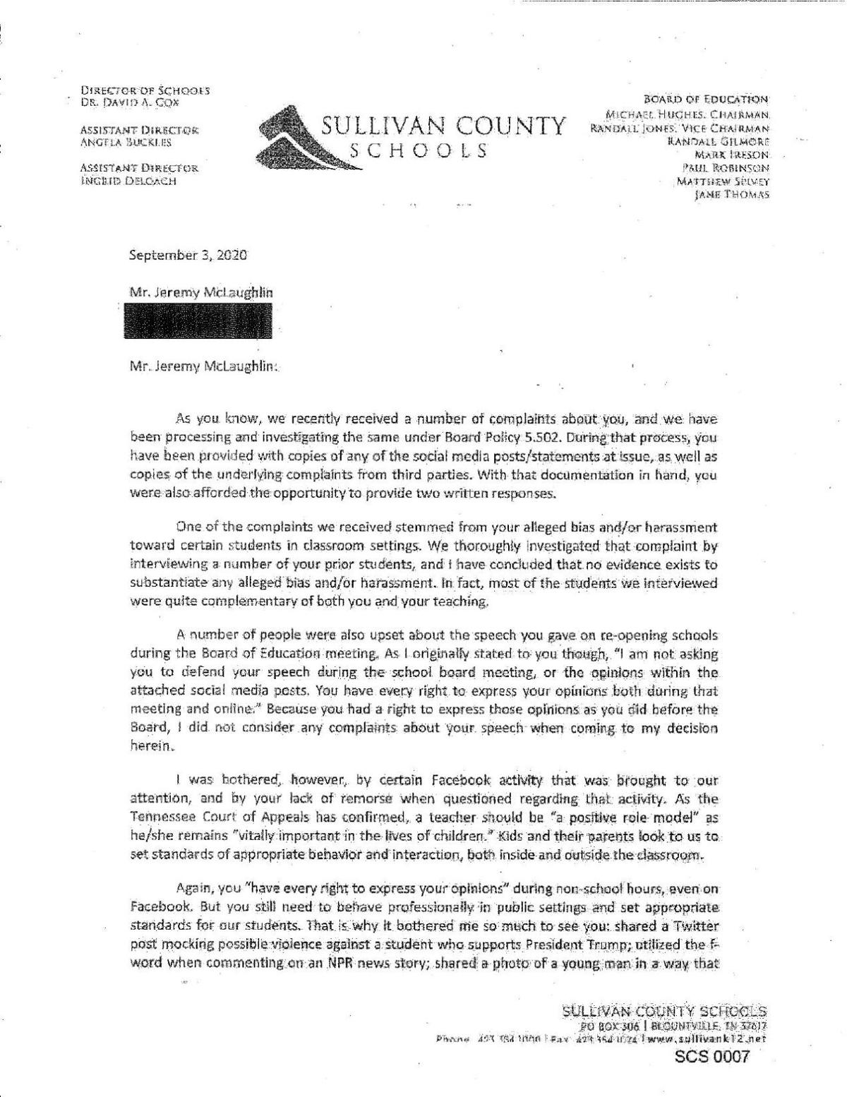 Letter Of Reprimand For Unprofessional Behavior from bloximages.newyork1.vip.townnews.com