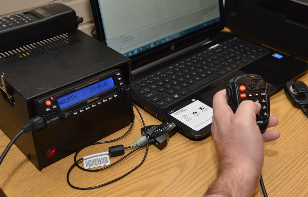 Mountain Empire Skywarn Team uses ham radios to keep the
