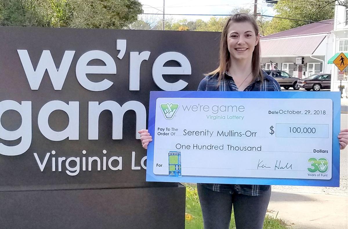 Abingdon woman wins $100,000 from Virginia Lottery scratch
