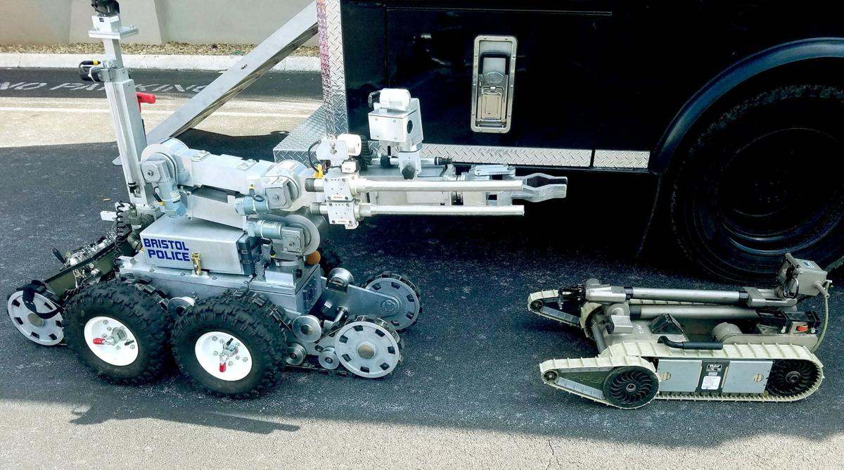 Johnson City gives new robot to Bristol Tennessee Police