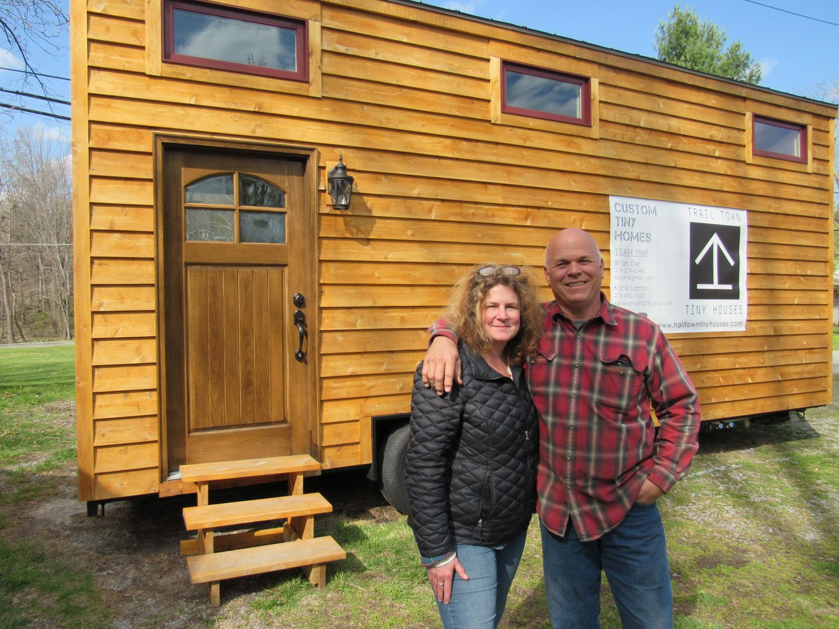 big dreams damascus couple joins tiny house movement news rh heraldcourier com