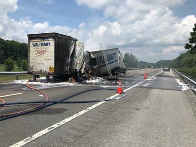 Crashes close section of Interstate 81 in Northeast