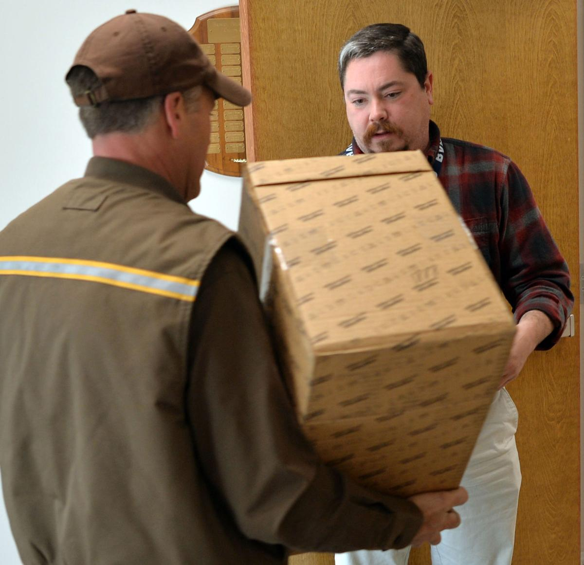 A day in the life of a UPS delivery driver during busiest