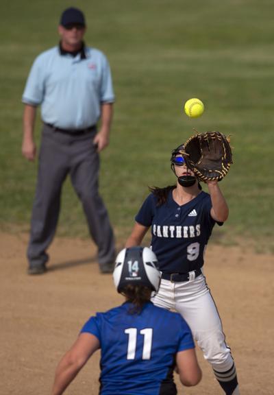 Northwood vs Parry McCluer softball