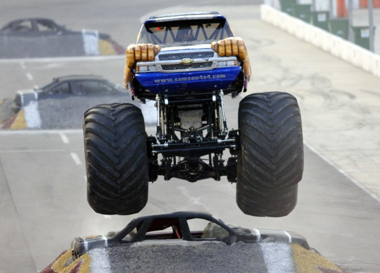 monster truck show at bristol motor speedway is a fan favorite rh heraldcourier com