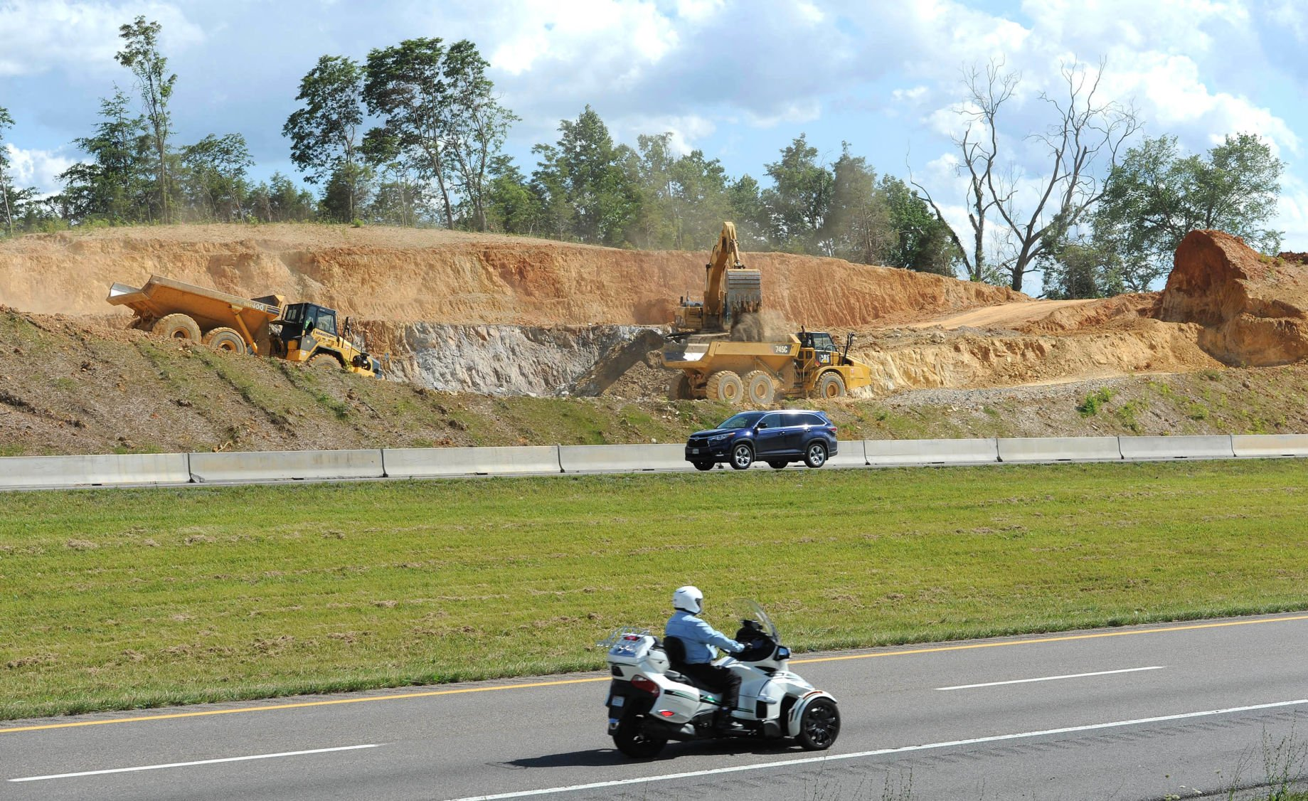 84M project underway to improve Exit 63