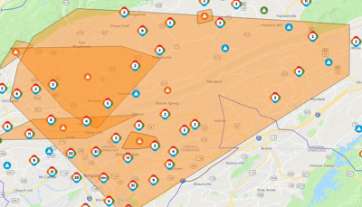 Hundreds still without power | Local News | heraldcourier.com on